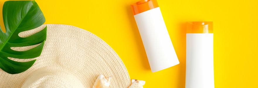 Choix d'une crème solaire